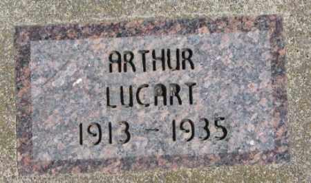 LUCART, ARTHUR - Dakota County, Nebraska | ARTHUR LUCART - Nebraska Gravestone Photos