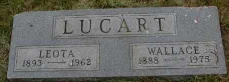 LUCART, LEOTA - Dakota County, Nebraska | LEOTA LUCART - Nebraska Gravestone Photos