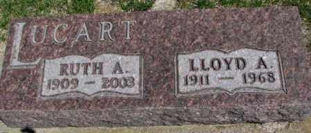 LUCART, LLOYD A. - Dakota County, Nebraska | LLOYD A. LUCART - Nebraska Gravestone Photos