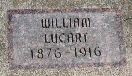 LUCART, WILLIAM - Dakota County, Nebraska | WILLIAM LUCART - Nebraska Gravestone Photos