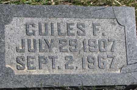LUESEBRINK, GUILES F. - Dakota County, Nebraska | GUILES F. LUESEBRINK - Nebraska Gravestone Photos