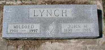 LYNCH, MILDRED - Dakota County, Nebraska | MILDRED LYNCH - Nebraska Gravestone Photos