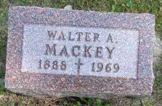 MACKEY, WALTER A. - Dakota County, Nebraska | WALTER A. MACKEY - Nebraska Gravestone Photos