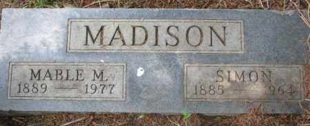 MADISON, SIMON - Dakota County, Nebraska | SIMON MADISON - Nebraska Gravestone Photos
