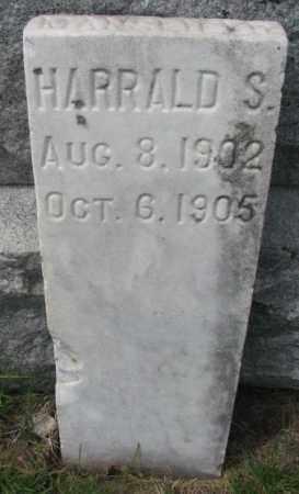 MANSFIELD, HARRALD S. - Dakota County, Nebraska   HARRALD S. MANSFIELD - Nebraska Gravestone Photos