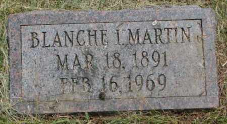 MARTIN, BLANCHE I. - Dakota County, Nebraska   BLANCHE I. MARTIN - Nebraska Gravestone Photos