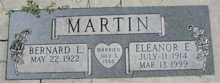 MARTIN, BERNARD L. - Dakota County, Nebraska | BERNARD L. MARTIN - Nebraska Gravestone Photos