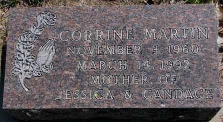 MARTIN, CORRINE - Dakota County, Nebraska | CORRINE MARTIN - Nebraska Gravestone Photos