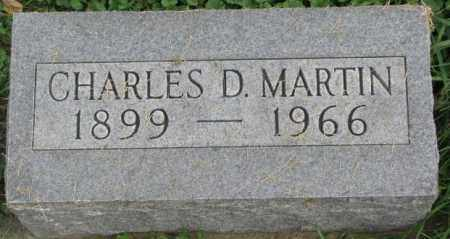 MARTIN, CHARLES D. - Dakota County, Nebraska | CHARLES D. MARTIN - Nebraska Gravestone Photos