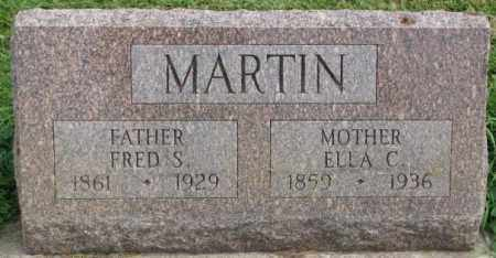 MARTIN, FRED S. - Dakota County, Nebraska | FRED S. MARTIN - Nebraska Gravestone Photos