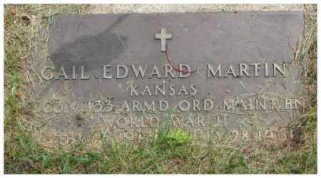MARTIN, GAIL EDWARD - Dakota County, Nebraska | GAIL EDWARD MARTIN - Nebraska Gravestone Photos