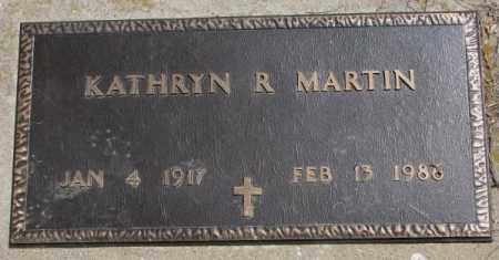 MARTIN, KATHRYN R. - Dakota County, Nebraska   KATHRYN R. MARTIN - Nebraska Gravestone Photos