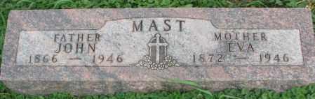 MAST, EVA - Dakota County, Nebraska | EVA MAST - Nebraska Gravestone Photos