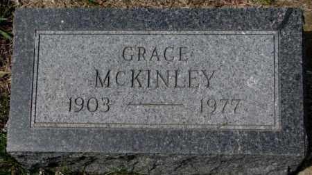 MCKINLEY, GRACE - Dakota County, Nebraska   GRACE MCKINLEY - Nebraska Gravestone Photos