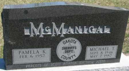 MCMANIGAL, MICHAEL T. - Dakota County, Nebraska | MICHAEL T. MCMANIGAL - Nebraska Gravestone Photos
