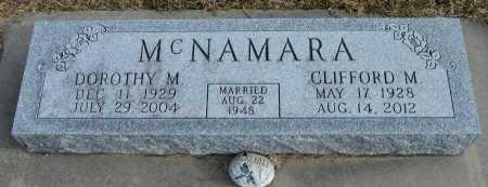 MCNAMARA, DOROTHY M. - Dakota County, Nebraska | DOROTHY M. MCNAMARA - Nebraska Gravestone Photos
