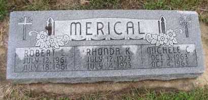 MERICAL, RHONDA K. - Dakota County, Nebraska | RHONDA K. MERICAL - Nebraska Gravestone Photos