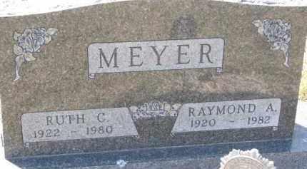 MEYER, RUTH C. - Dakota County, Nebraska | RUTH C. MEYER - Nebraska Gravestone Photos