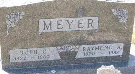 MEYER, RAYMOND A. - Dakota County, Nebraska | RAYMOND A. MEYER - Nebraska Gravestone Photos