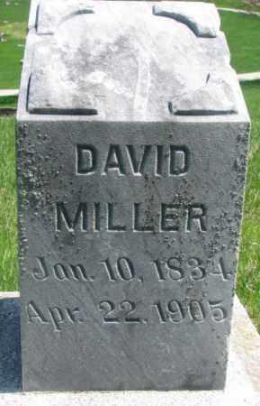 MILLER, DAVID - Dakota County, Nebraska | DAVID MILLER - Nebraska Gravestone Photos