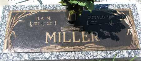 MILLER, ILA M. - Dakota County, Nebraska | ILA M. MILLER - Nebraska Gravestone Photos