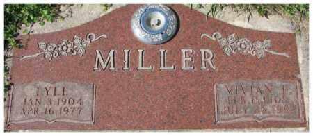 MILLER, VIVIAN I. - Dakota County, Nebraska | VIVIAN I. MILLER - Nebraska Gravestone Photos