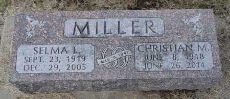 MILLER, SELMA L. - Dakota County, Nebraska | SELMA L. MILLER - Nebraska Gravestone Photos
