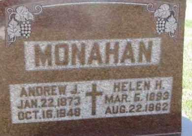 MONAHAN, HELEN H. - Dakota County, Nebraska | HELEN H. MONAHAN - Nebraska Gravestone Photos