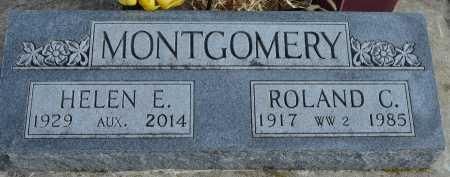 MONTGOMERY, HELEN E. - Dakota County, Nebraska | HELEN E. MONTGOMERY - Nebraska Gravestone Photos