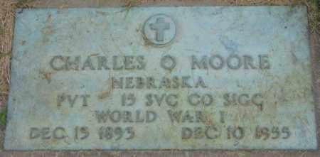 MOORE, CHARLES O. - Dakota County, Nebraska | CHARLES O. MOORE - Nebraska Gravestone Photos