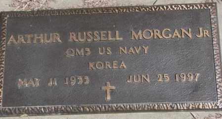 MORGAN, ARTHUR RUSSELL JR. (MILITARY) - Dakota County, Nebraska | ARTHUR RUSSELL JR. (MILITARY) MORGAN - Nebraska Gravestone Photos