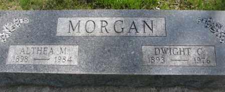 MORGAN, DWIGHT C. - Dakota County, Nebraska | DWIGHT C. MORGAN - Nebraska Gravestone Photos