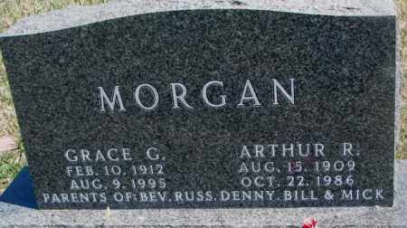 MORGAN, ARTHUR R. - Dakota County, Nebraska   ARTHUR R. MORGAN - Nebraska Gravestone Photos