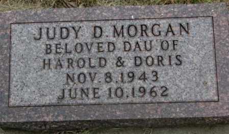 MORGAN, JUDY D. - Dakota County, Nebraska | JUDY D. MORGAN - Nebraska Gravestone Photos