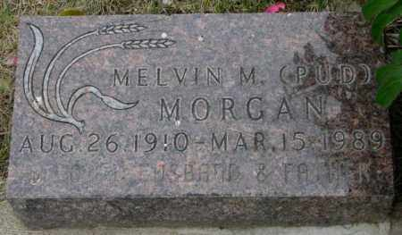 "MORGAN, MELVIN M. ""PUD"" - Dakota County, Nebraska | MELVIN M. ""PUD"" MORGAN - Nebraska Gravestone Photos"