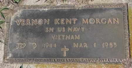 MORGAN, VERNON KENT - Dakota County, Nebraska | VERNON KENT MORGAN - Nebraska Gravestone Photos