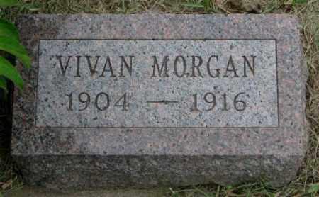 MORGAN, VIVAN - Dakota County, Nebraska | VIVAN MORGAN - Nebraska Gravestone Photos