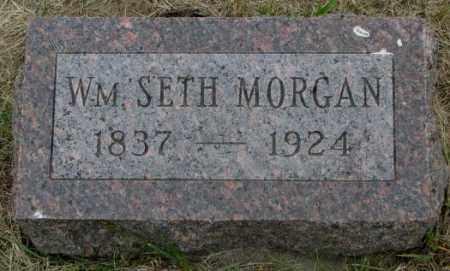 MORGAN, WM. SETH - Dakota County, Nebraska | WM. SETH MORGAN - Nebraska Gravestone Photos