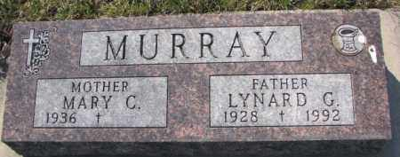 MURRAY, MARY C. - Dakota County, Nebraska   MARY C. MURRAY - Nebraska Gravestone Photos