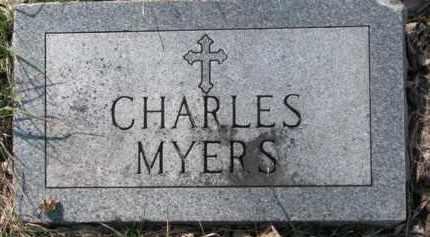 MYERS, CHARLES - Dakota County, Nebraska | CHARLES MYERS - Nebraska Gravestone Photos