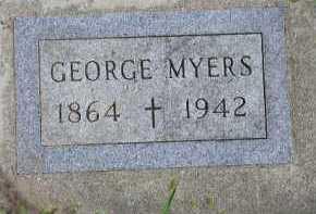 MYERS, GEORGE - Dakota County, Nebraska | GEORGE MYERS - Nebraska Gravestone Photos