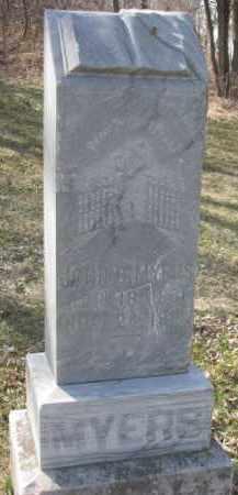 MYERS, JOHN B. - Dakota County, Nebraska | JOHN B. MYERS - Nebraska Gravestone Photos
