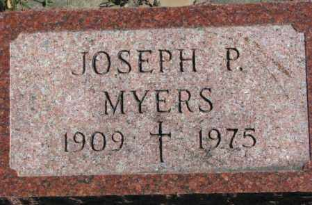 MYERS, JOSEPH P. - Dakota County, Nebraska | JOSEPH P. MYERS - Nebraska Gravestone Photos