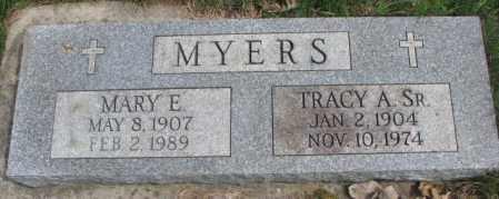 MYERS, TRACY A. SR. - Dakota County, Nebraska | TRACY A. SR. MYERS - Nebraska Gravestone Photos