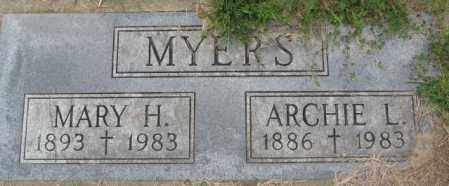 MYERS, MARY H. - Dakota County, Nebraska | MARY H. MYERS - Nebraska Gravestone Photos