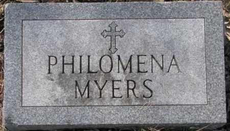 MYERS, PHILOMENA - Dakota County, Nebraska | PHILOMENA MYERS - Nebraska Gravestone Photos