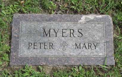 MYERS, PETER - Dakota County, Nebraska | PETER MYERS - Nebraska Gravestone Photos