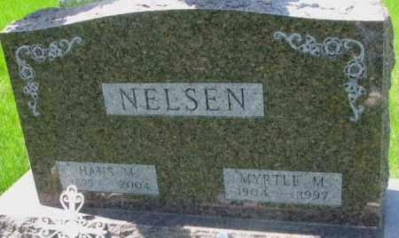 NELSEN, HANS M. - Dakota County, Nebraska | HANS M. NELSEN - Nebraska Gravestone Photos