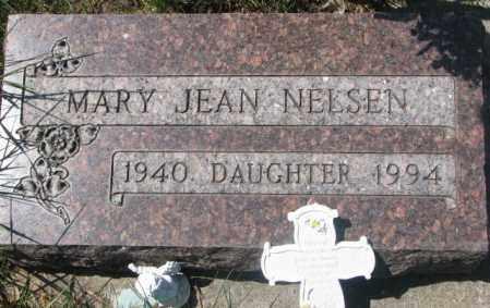 NELSEN, MARY JEAN - Dakota County, Nebraska   MARY JEAN NELSEN - Nebraska Gravestone Photos