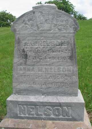 NELSON, A.J. - Dakota County, Nebraska | A.J. NELSON - Nebraska Gravestone Photos